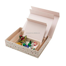 Hot sales foldable paper package box magnet