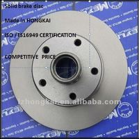 supply good quality solid brake disc /rotor