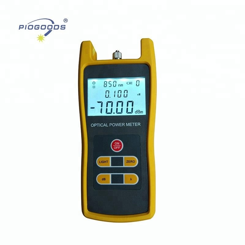PG-OPM508 fibre optic power meter price in india fiber optic cable test kit