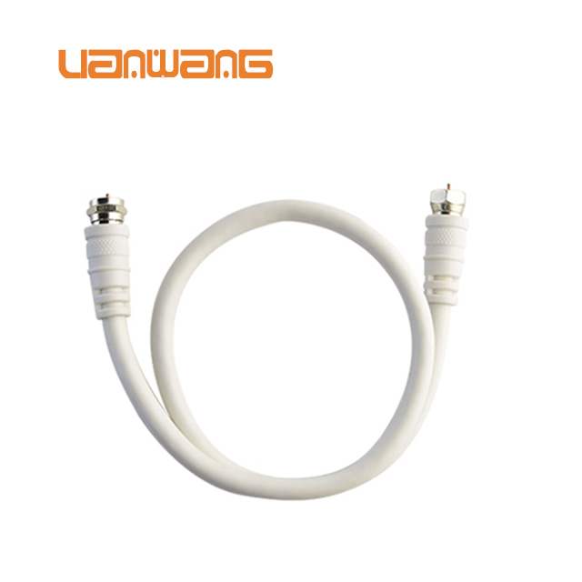 F to F connector rg6u Coaxial Cable 750hm