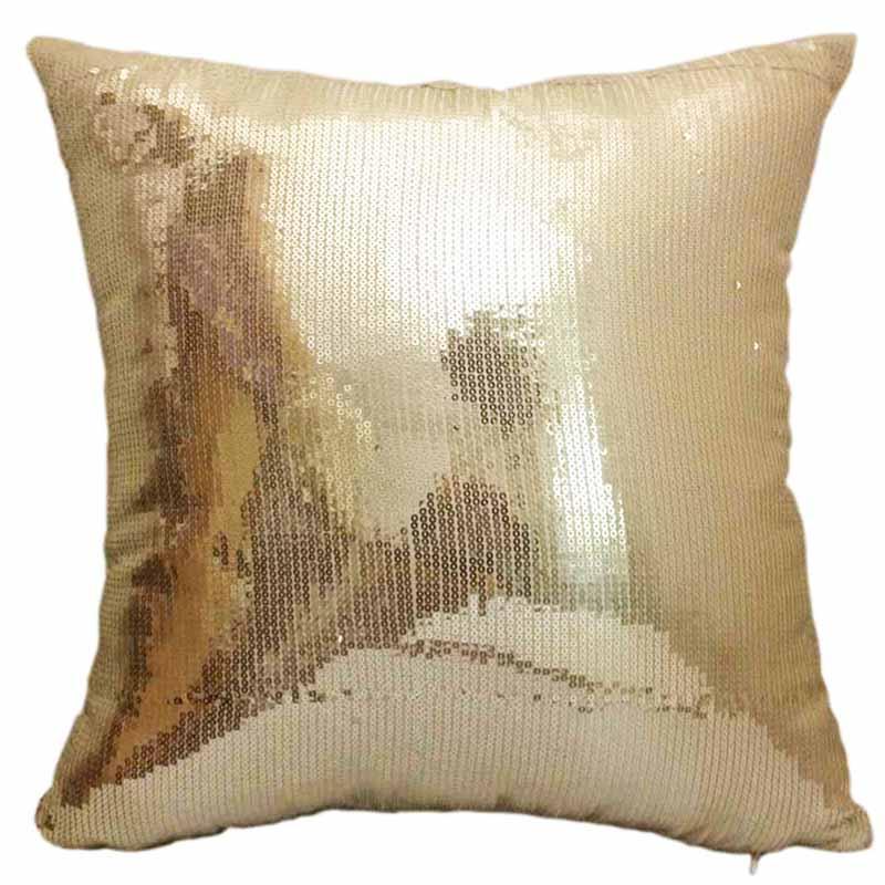 decorative sequins cushion cover with embroidery cojines decorativos almofadas decorative. Black Bedroom Furniture Sets. Home Design Ideas