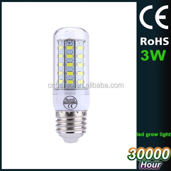 LED corn light E27 E14 GU10 B22 G9 3 4 4.5 5 5.5 watt LED Bulb 220V 110V 5730 SMD