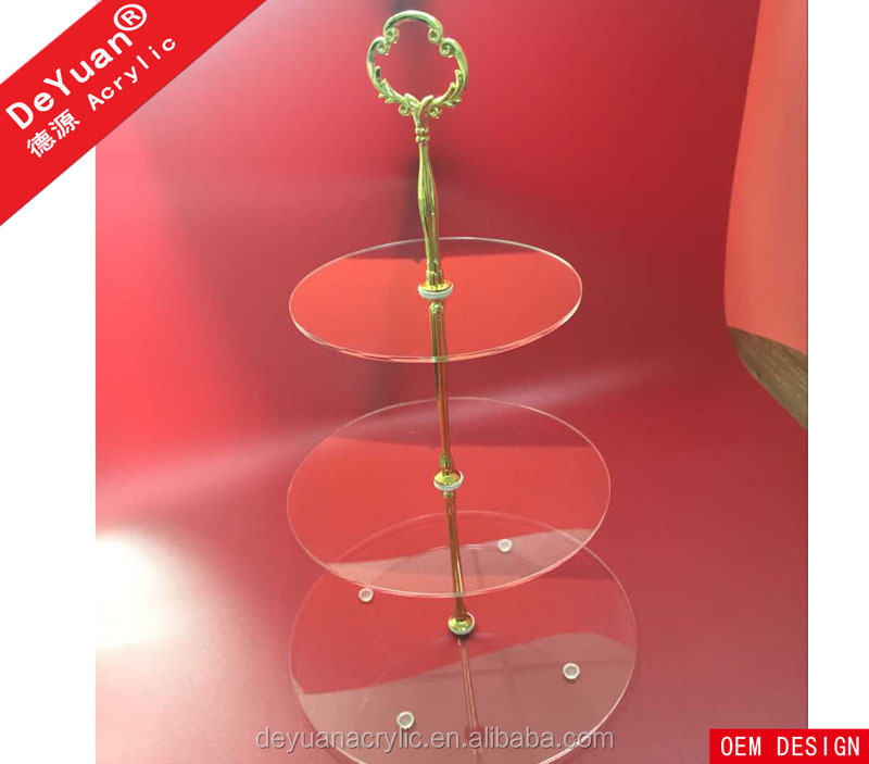 wholesale wedding cake stands 3 tier acrylic wedding cake stand buy cake 1390