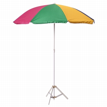 Sun Protection Mini Patio Rainbow Canopy Beach Outdoor Umbrella