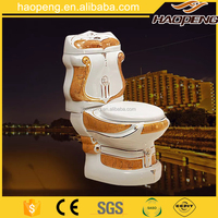 A-805 five star hotel bathroom best sanitary ware price gold toilet