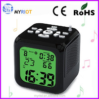 Table multifuntion alarm digital MP3 radio clock