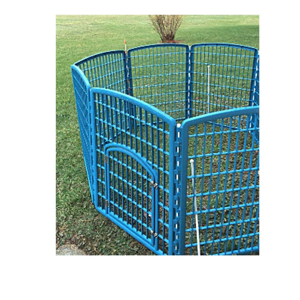 Buy Large Dog Pen Breed Exercise Door Pet Portable 8 Panel Kennel
