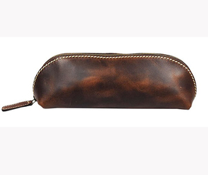 Promotional Leather Pen Pencil Case for school