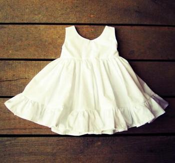 Rustic flower girl outfit classic monogrammed dress white ivory rustic flower girl outfit classic monogrammed dress white ivory cotton flower girl dress mightylinksfo