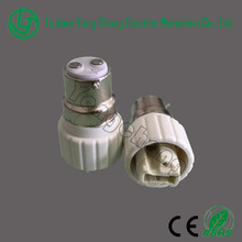 Top quality B22 to G9 screw ceramic lamp holder socket adapter