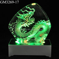 Led lighted table decorative star glass souvenir iceberg