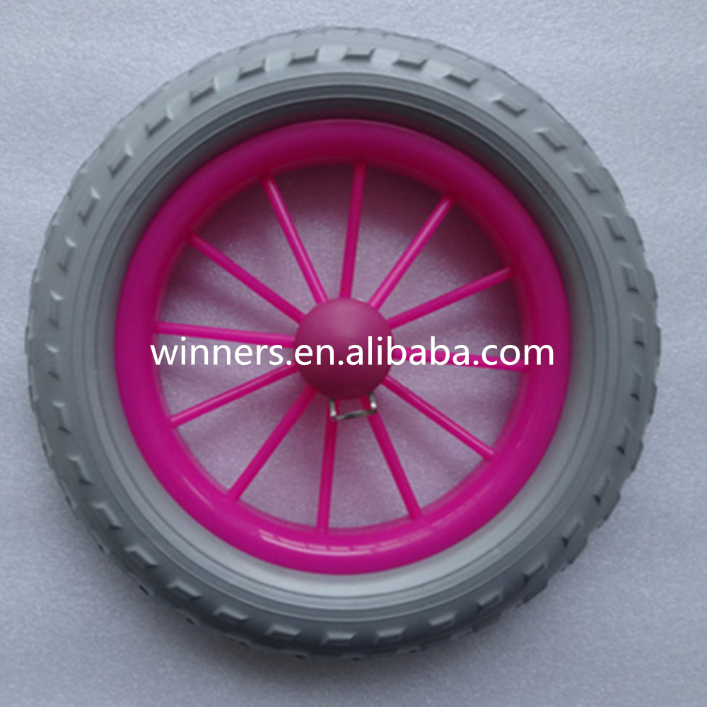 8 Inch Plastic Bike Wheels Stroller Wheel Eva Plastic Wheel Buy