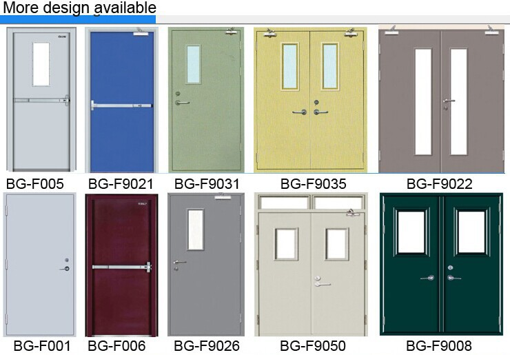 Bg f9056 Steel Rated Fire Door With Panic Push Bar Buy