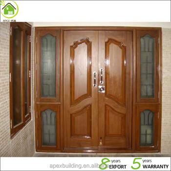 Burma Teak wood doors main door models solid wood timber door & Burma Teak wood doors main door models solid wood timber door View ...