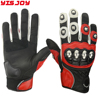 Professional genuine leather motor bike gloves durable motorcycle racing motocross riding gloves