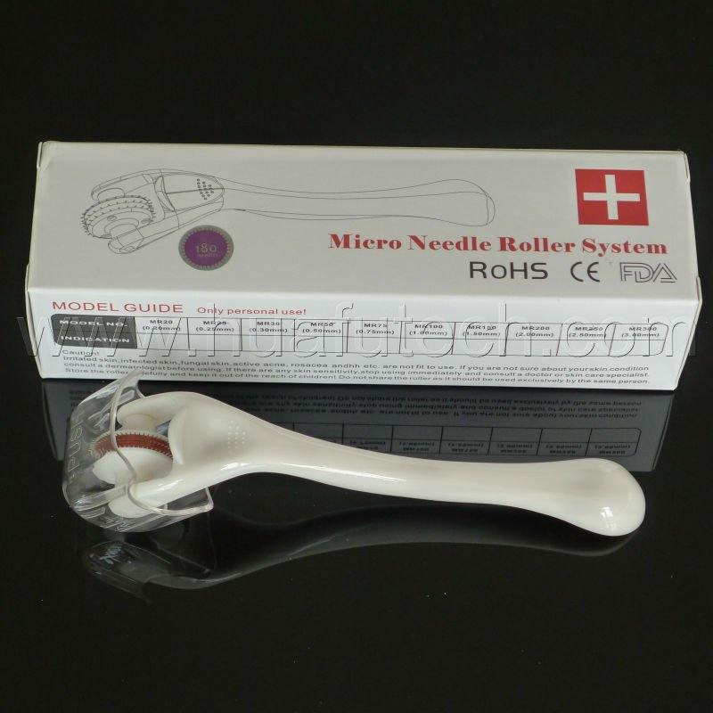 2012 spa wrinkle removal micro needle roller therapy skin care new derma roller