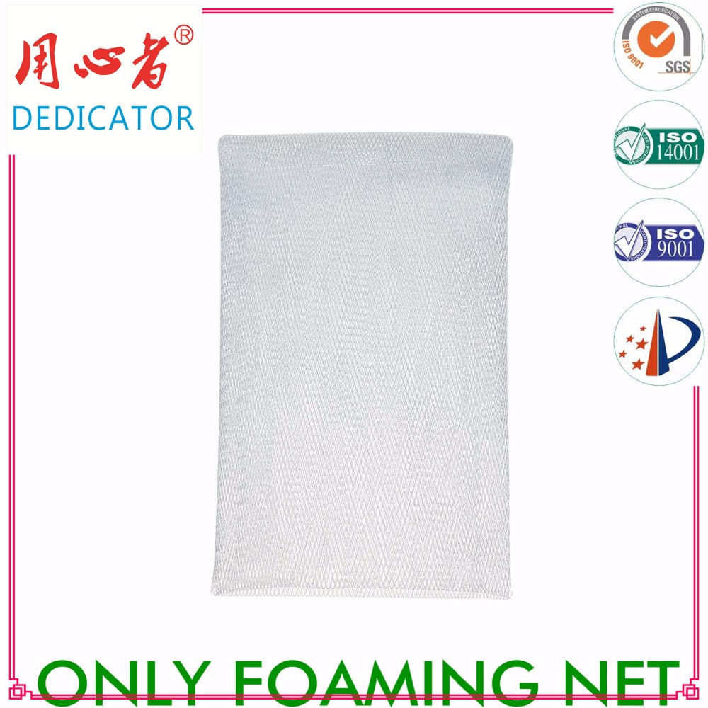 soap bag facial cleanser PE net for facial cleansing& Body wash A24