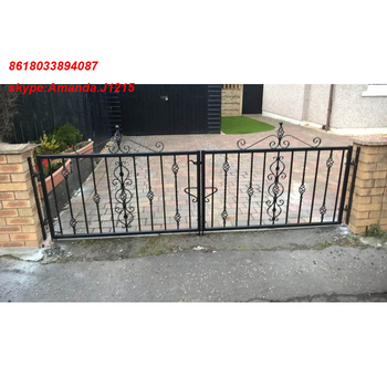 Chinese Pedestrian Cheaper Used Metal Farm Home Sliding Compound Wall Gate Design Buy Compound Wall Gate Design Latest House Main Gate