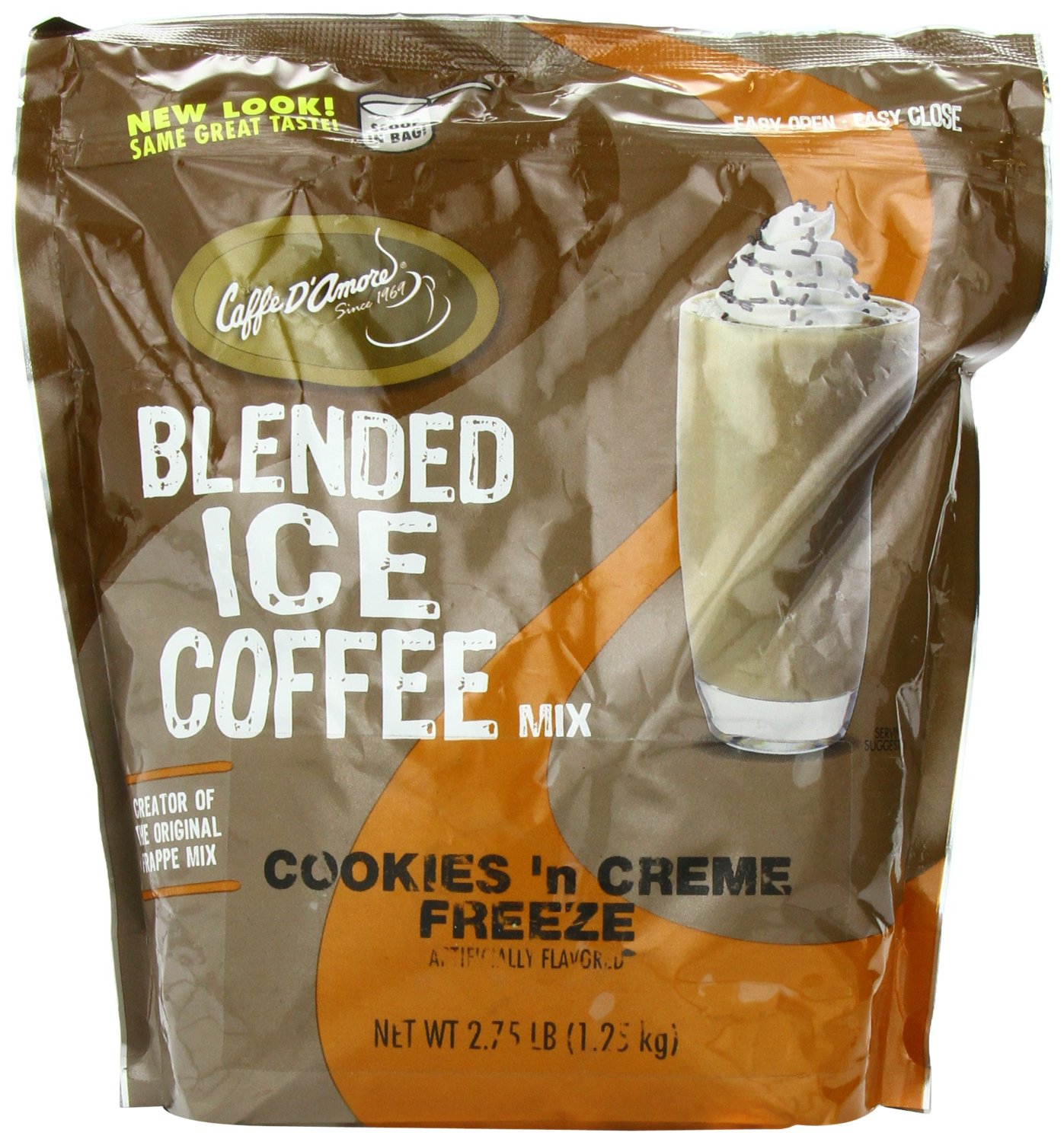 Frappe Freeze Crunch Coffees, Cookies 'N Cream, 2.75-Pound