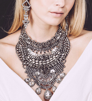 Big statement large costume jewelry necklace N5047 & Big Statement Large Costume Jewelry Necklace N5047 - Buy Costume ...