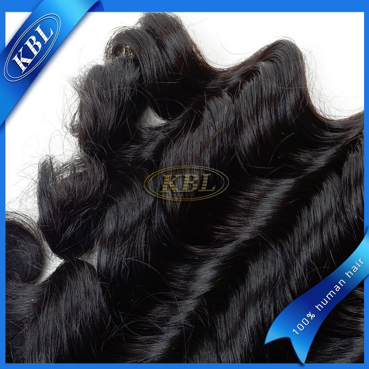 Finest quality remy single human hair, new loose wave kevin cn hair extension