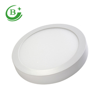 Wide voltage low price round surface mounted indoor 24w ceiling panel led light