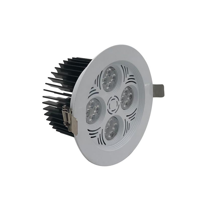 high performance cri80 dimmable spot light hidden camera