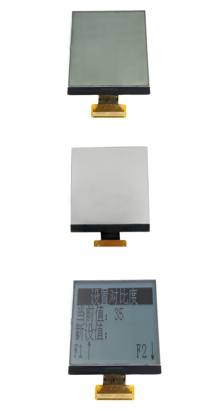 TCC(160160P01) shenzhen square 24 pin display screen FPC 160x160 cog fstn lcd module