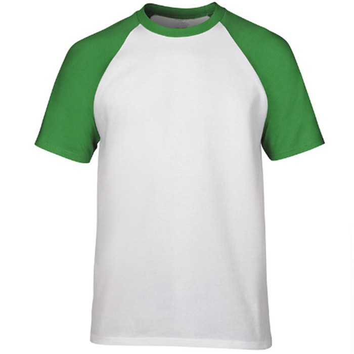 ATS336 mannen Plain Raglan Shirt 3/4 Mouwen Athletic Honkbal Jersey T-shirt