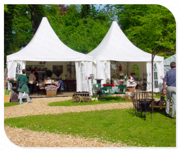 New Design Customized White Fabric Wedding Canopy Tent Arabian High Peak Pagoda