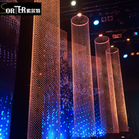 Sorter DIY Crystal Beads Chain curtain for Chandelier Lamp Home Wedding Party Decor crystal wedding garland