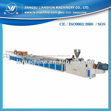 LIANSHUN excellent machinery manufacturer PVC profile extrusion line for producing windowsill