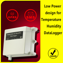 Low Power design for Temperature Humidity measurement and control datalogger weather station