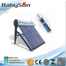 Closed Loop 150 Liters heat pipe solar water heater with 5 Years Quality Assurance