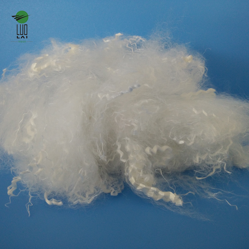 100% Polyester recycled solid polyester staple fiber psf with best price