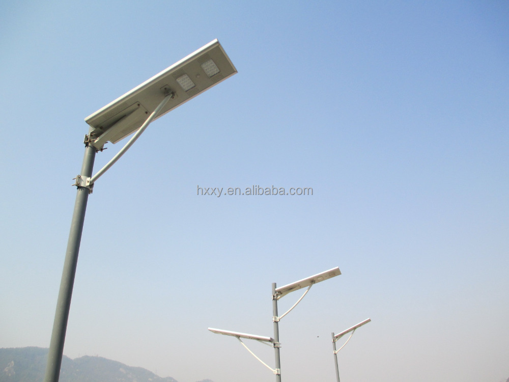 6W-100W integrated all in one led solar street light with besr price