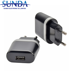 Hot sale electronics products cell phone accessories 3.1A home charger adapt to EU/AU/UK/US plug