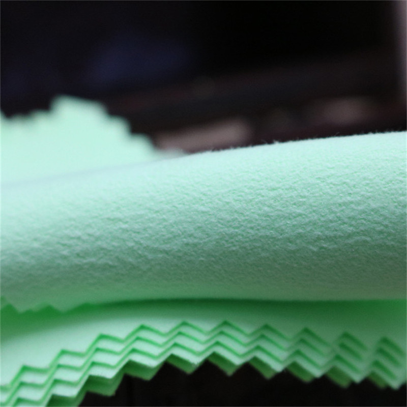 Wholesale Microfiber Cleaning Polishing Cloth With Silver