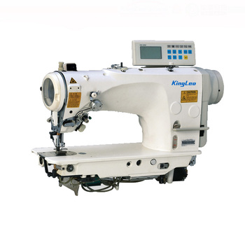 INDUSTRIAL SEWING MACHINE with function of auto-trimmer auto-reverse