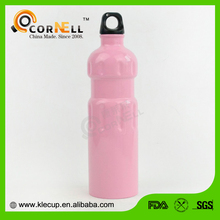 2017 hot new products Customized stainless steel water bottle BPA free with carabiner
