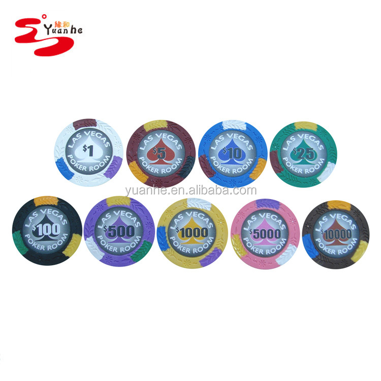 13.5g casino goedkope custom klei Las Vegas Poker Room chips