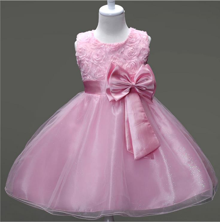 Princesa Flor Niña Vestido De Verano 2017 Traje Adolescente Prom ...