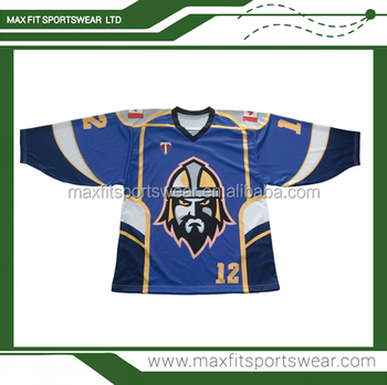 Custom made full dye sublimation printing team roller hockey jersey wear 2cb96ec0b5b