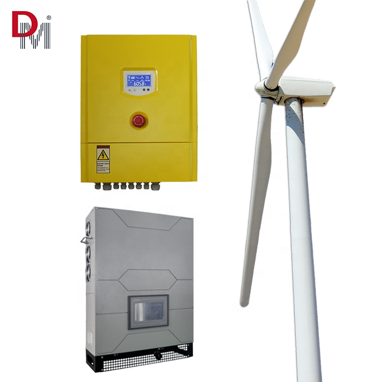 1,000W On Grid Wind Power System จาก Deming Power
