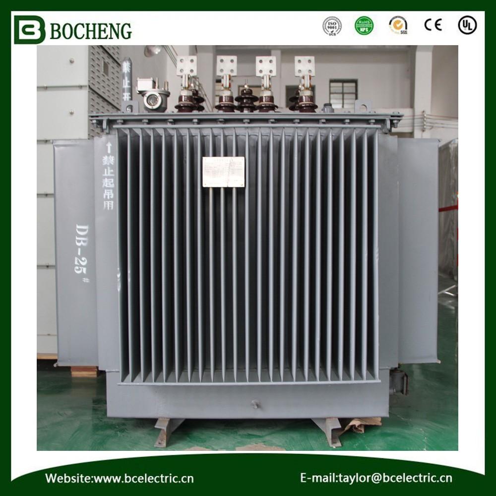Three Phase Oil Immersed Power Distribution 69kv Transformer