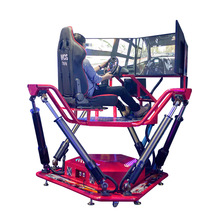 Arcade game machine 3 screen racing car simulator motion simulator fro sale