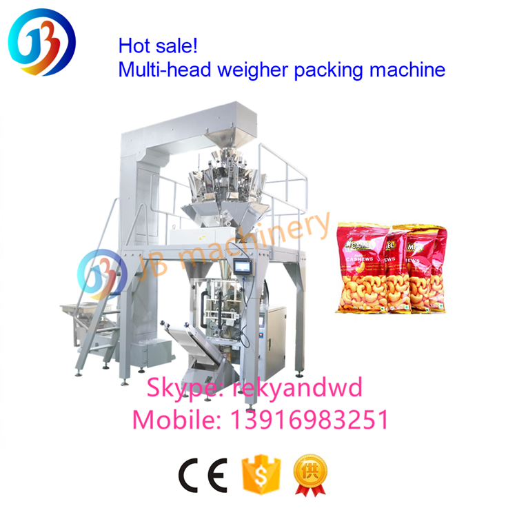 Automatic vertical sachet food tea spice rice sugar packaging powder pouch packing filling sealing pack machine
