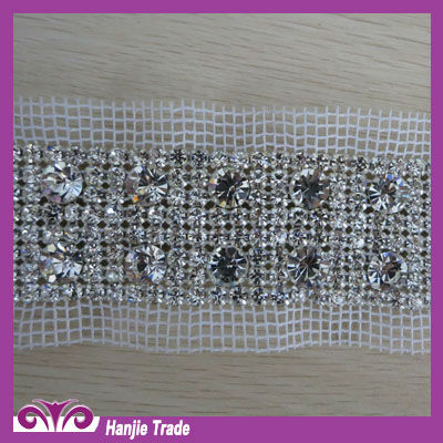 2015 Hot-sale Rhinestone Trimming for Wedding Dresses