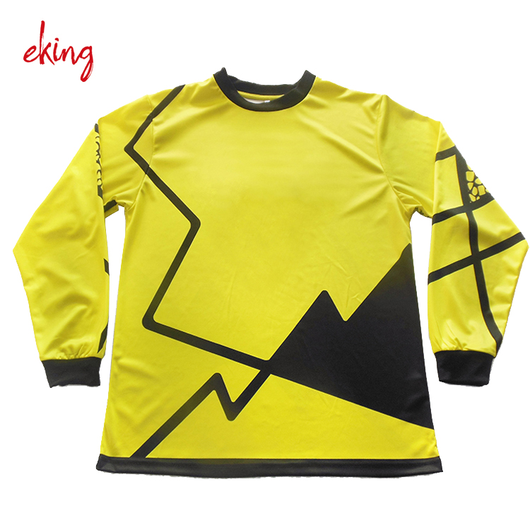 quick dry mesh fabric sublimation wholesale fishing jersey