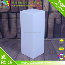 LED Pillar Cube Table LED Wedding Table for event party